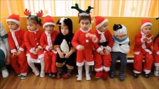 Коледен поздрав от по-големите в яслата