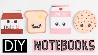 DIY NOTEBOOKS - Four Easy & Cute Ideas!