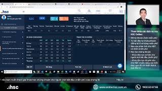 Livestream tư vấn cổ phiếu 01.06.2020
