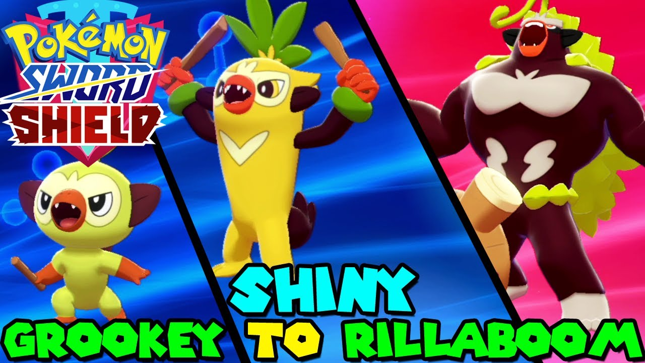 Evolving Shiny Grookey To Shiny Rillaboom In Pokemon Sword Shield Youtube A list of all pokemon go gen 3 shiny and normal forms (no gender differences highlighted). evolving shiny grookey to shiny rillaboom in pokemon sword shield