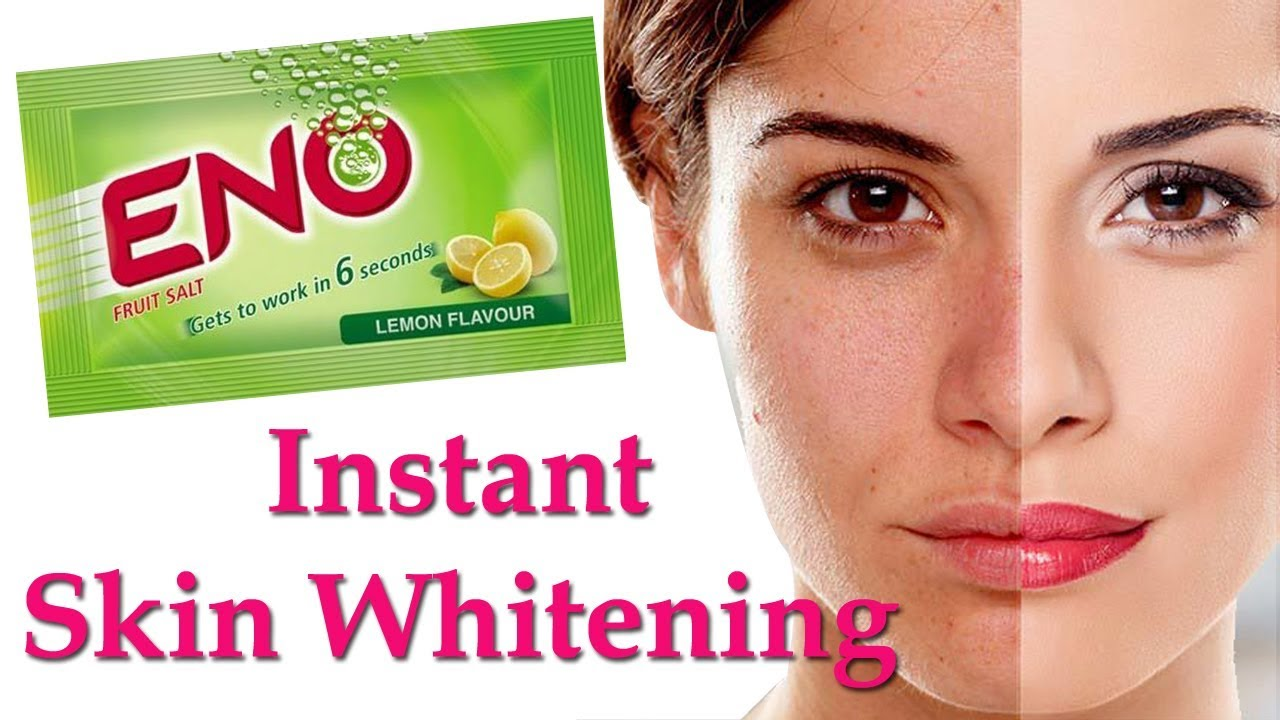 Whitening treatment as is indicated by comparison to the whitening - Skin Whitening Treatment Naturally Instant Fairness Treatment With Eno