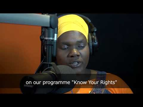 Stand up for someone's rights today community radio station awards (long version)