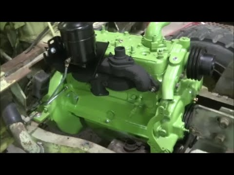 Clark IT-40 Forklift Engine Replacement Part 7 of 9