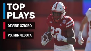 Top Plays: Devine Ozigbo Highlights vs. Minnesota Golden Gophers Big Ten Football