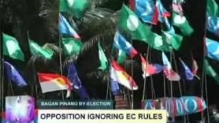 UMNO Tidak Bertanding, Turunkan Bendera UMNO