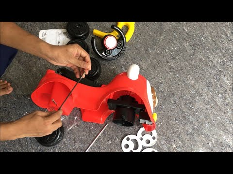 Assembling Miss & Chief Push Ride On Toy