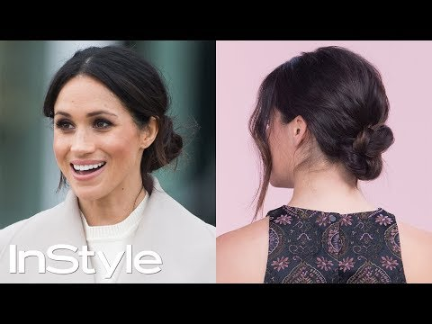 How To Master Meghan Markle's Messy Bun | InStyle