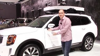 Kia Telluride First Look Walkaround Video