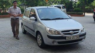 (Đã bán) Hyundai Getz 1.1 M/T 2008 đẹp XUẤT SẮC, ko taxi, bản đủ