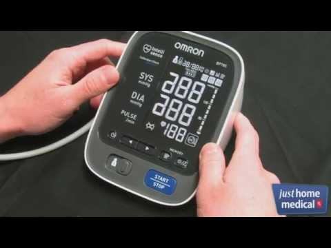 Just Home Medical: Omron 10 Series Upper Arm Blood Pressure Monitor