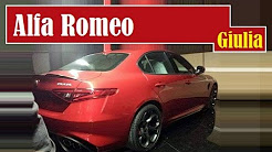 Alfa Romeo Giulia, the very first pictures of this sports sedan