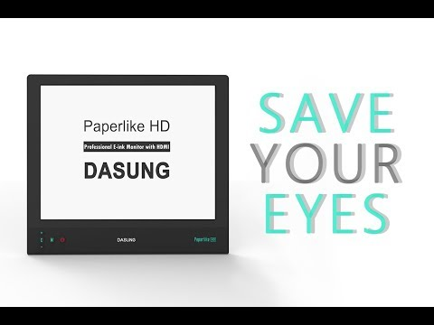 DASUNG 13.3 Inch E-ink As Laptop Monitor (Paperlike 3)