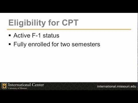 International student workshop: Curricular practical training