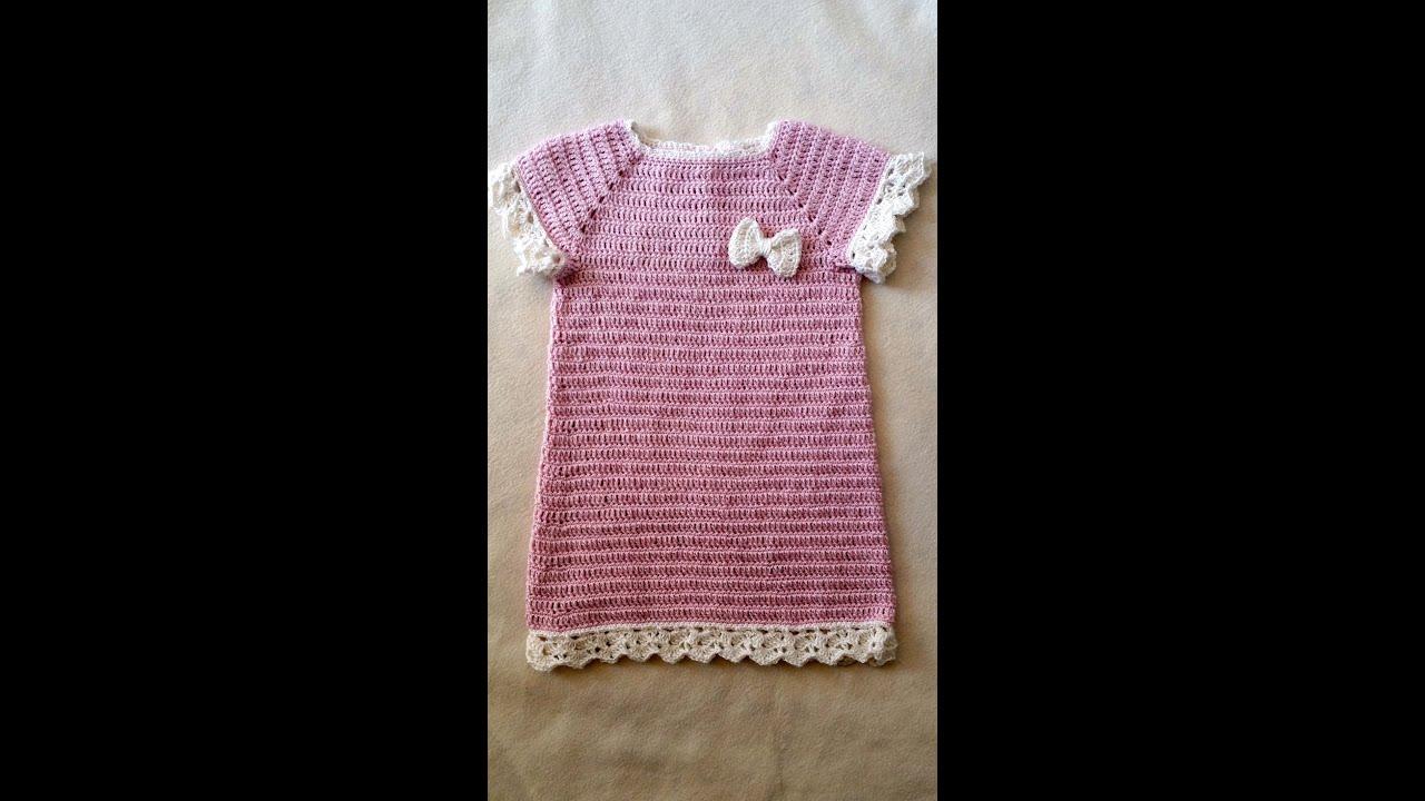 taufkleid h keln h kelkleid babykleid teil 1 6 by berlin crochet youtube. Black Bedroom Furniture Sets. Home Design Ideas