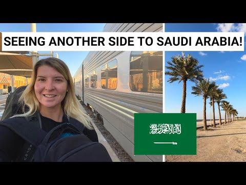 RIYADH TO DAMMAM BY TRAIN | Dammam Corniche & Heritage Village! | Dammam Vlog!