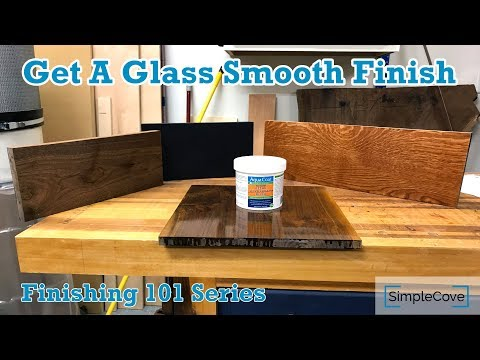 How To Use Grain Fillers - Finishing 101 Series