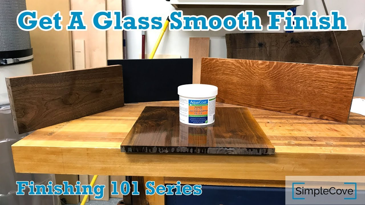 How To Use Grain Fillers Finishing 101 Series Youtube