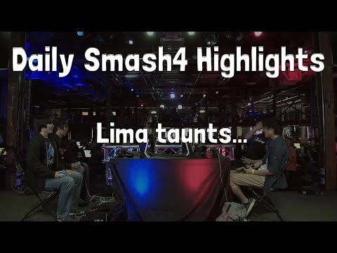 Daily Smash4 Highlights: Lima taunts...