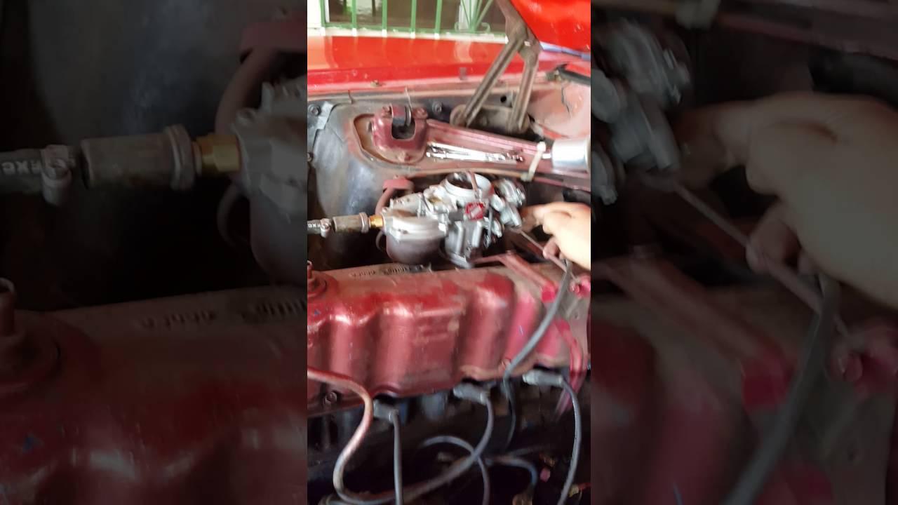 Falla en carburador falta calibracion exceso de aire