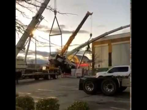Crane Accident CraneWorks Video 2