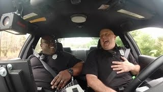 'Shake it Off' Singing Police Officer is Back with a Duet of Your Favorite Hits!