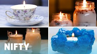 6 DIY Candles For Any Occasion