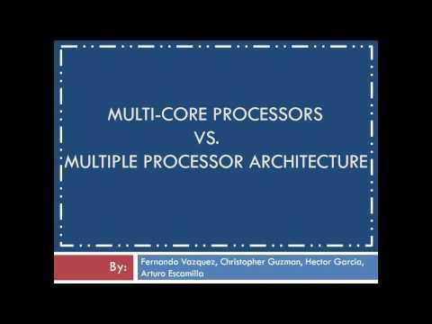 Multiple cores vs multiple processors