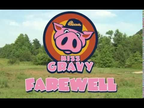 No more hamming it up for Miss Gravy the pig as she retires from Montgomery Biscuits