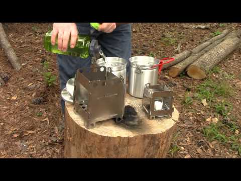 Folding Wood Burning HikingSurvival Stoves