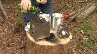 Folding Wood Burning Hikingsurvival Stoves