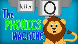 THE LETTER O SONGS -Phonics Songs for Kids Alphabet Sounds PHONICS MACHINE ABC Sounds Song Preschool