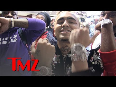 Lil Pump Buys His Entire Crew Diamond Watches | TMZ