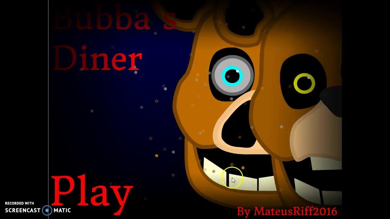 Scratch FNAF Fan Games! - #1 Bubba's Diner