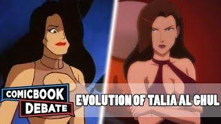 Evolution of Talia al Ghul in Cartoons in 7 Minutes (2019)