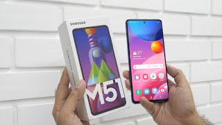 Samsung Galaxy M51 With 7000mAh Battery Unboxing & Overview