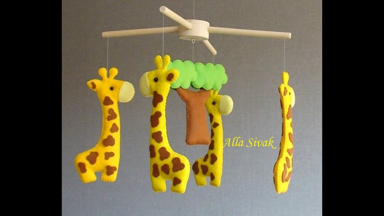 Giraffe Mobile Nursery
