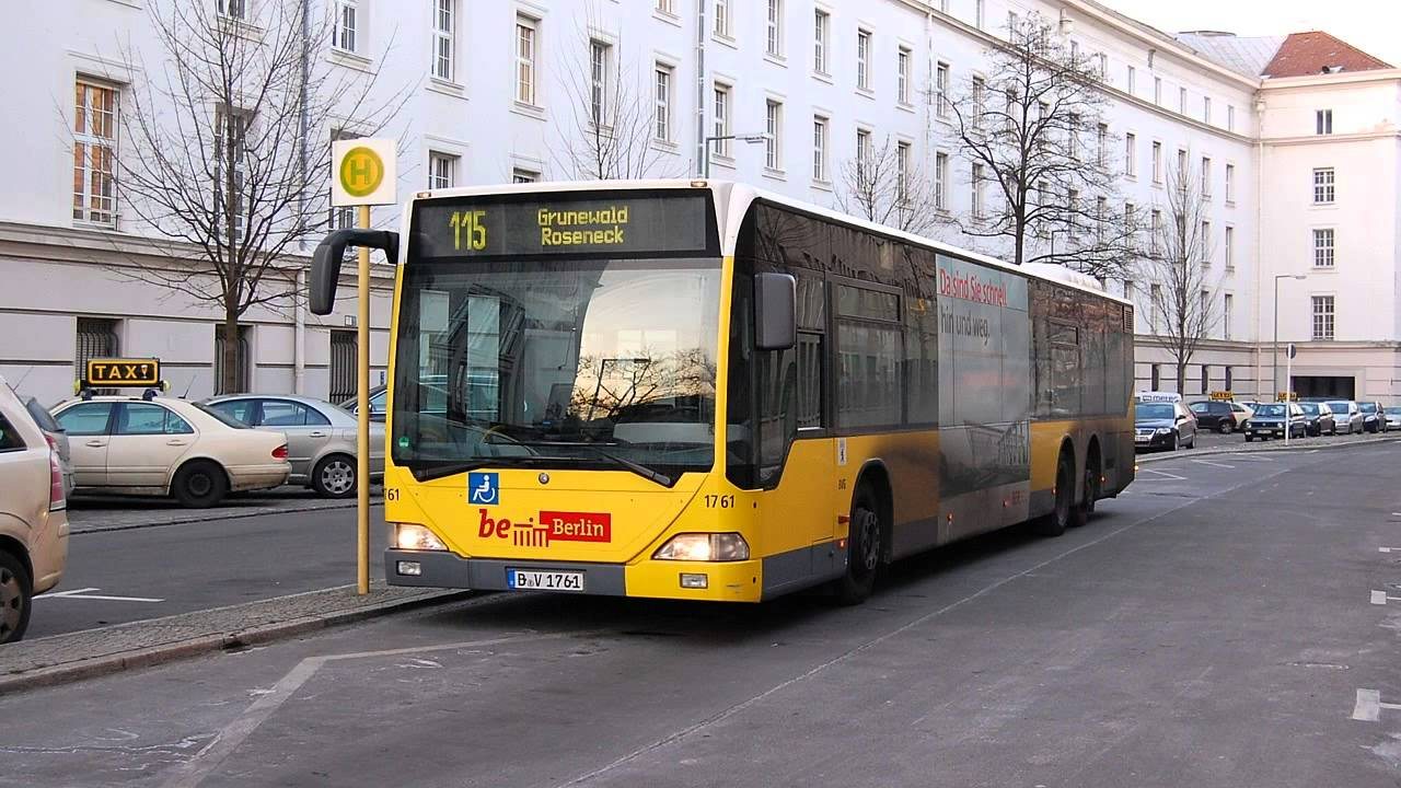 bvg bus berlin 1761 soundaufnahme mitfahrt citaro dreiachser linie 154 youtube. Black Bedroom Furniture Sets. Home Design Ideas