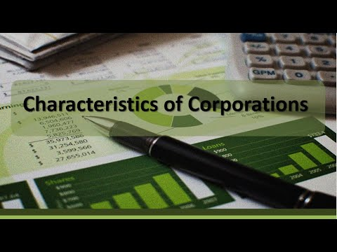 Stockholders' Equity: Characteristics of a Corporation