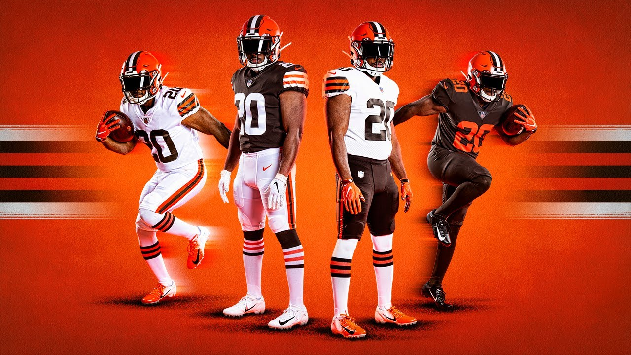 Cleveland Browns reveal new uniforms - YouTube