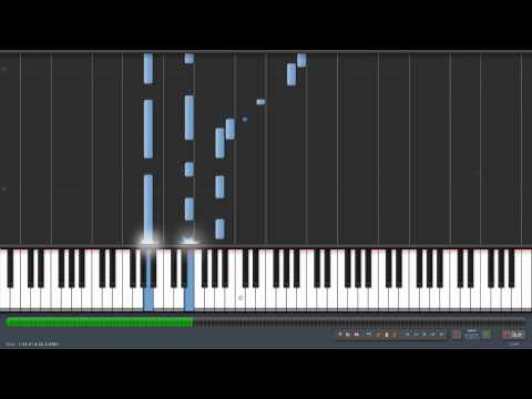 My Heart Will Go On (Titanic) Piano Cover (Synthesia xChris95xx version)