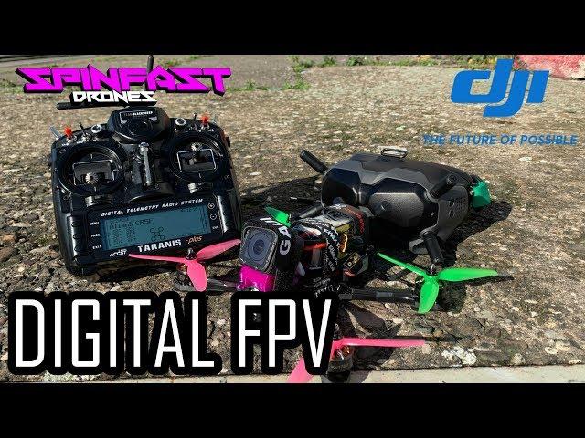 DIE ZUKUNFT IST HIER!!111elf -DJI Digital FPV System Review auf deutsch