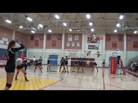 Oxnard High School vs. Bishop Montgomery Varsity Volleyball - CIF 11/1/16 Sets 2, 3 & 4