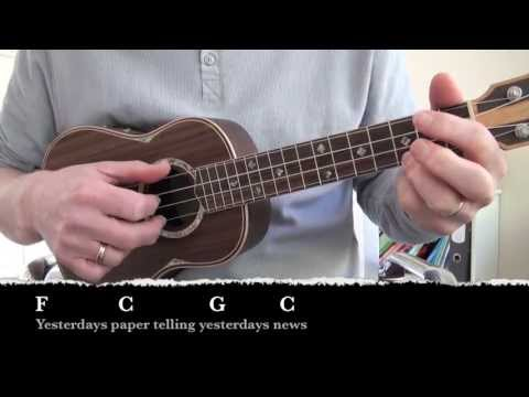 Streets of London - Lyrics and chords (Uke and Guitar) - YouTube