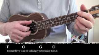 Streets of London - Lyrics and chords (Uke and Guitar)