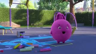 Sunny Bunnies   HOPSCOTCH GAME BUNNIES   Cartoons For Children   Funny Cartoons For Children