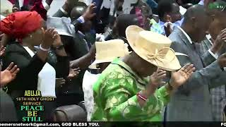 ABUJA SPECIAL HOLY GHOST SERVICE PEACE BE STILL WITH PASTOR E A ADEBOYE
