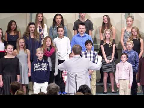 Clearwater Middle School Choir Concert December 2016