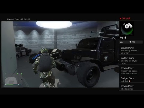 GTA 5 ONLINE (LIVE BROADCAST) - STREAM TEAM - Nobody But Me (free aim)