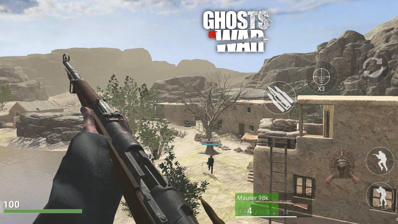 Ghost of War ww2 é lançado oficialmente para Android