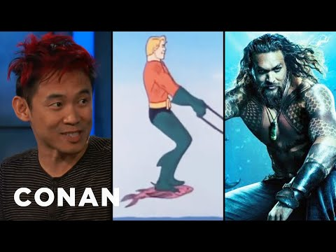 How James Wan Is Reinventing Aquaman  - CONAN on TBS